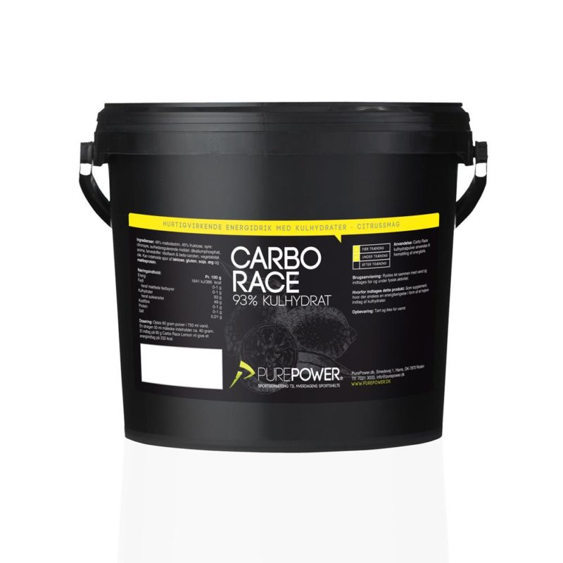 PurePower Carbo Race Citrus 3kg