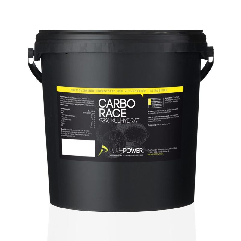 PurePower Carbo Race Citrus 5kg