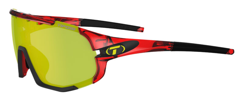 Tifosi Sledge Crystal Red Clarion Yellow/AC Red/Clear